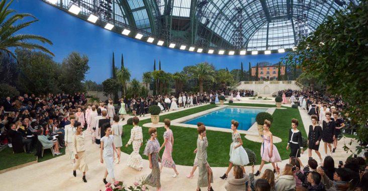 Défilé Chanel haute couture printemps-été 2019 f1325bc6caa